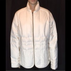 """Eddie Bauer Quilted Goose Down  Coat 50"""" Bust Firm"""